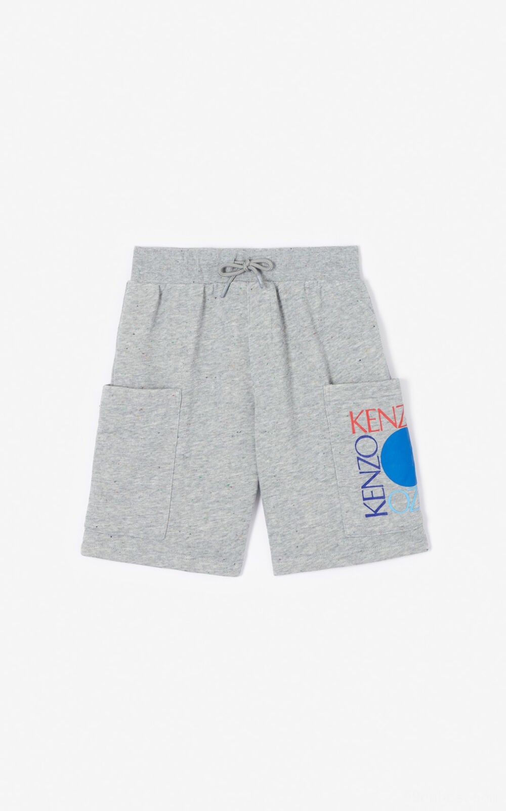 "Short ""Square Logo"" - misty grey"