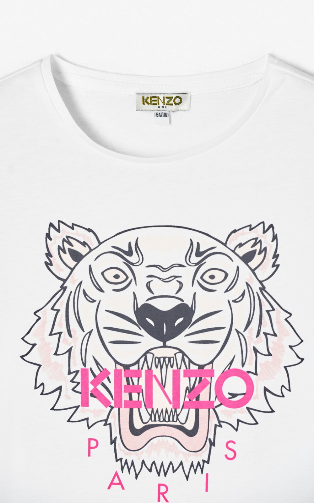 T-Shirt 'Tiger' - white