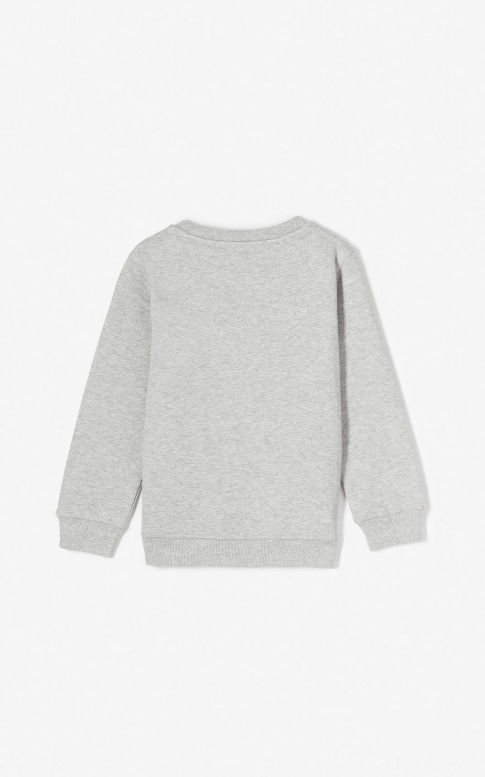 Sweatshirt Tiger - misty grey