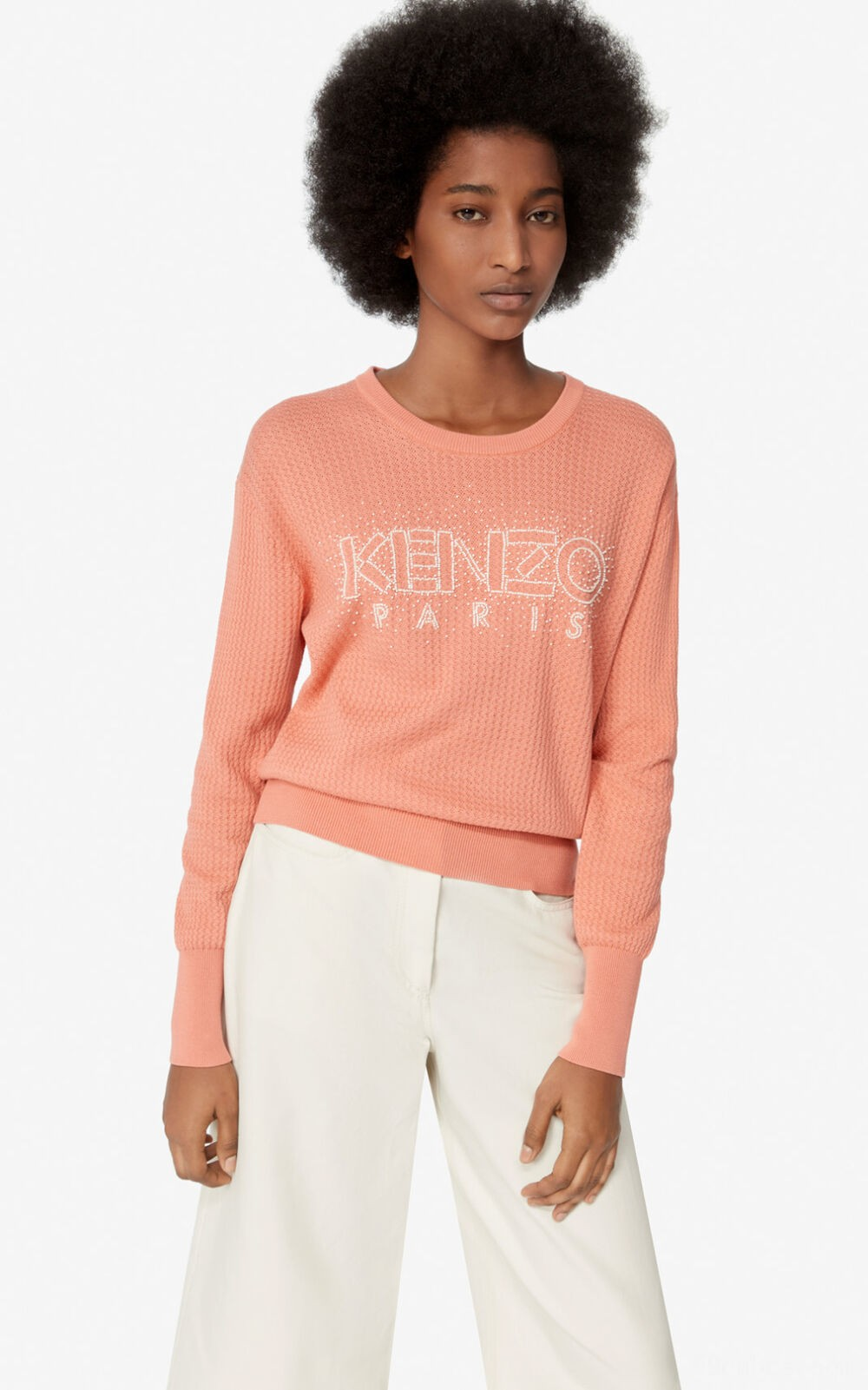 Pullover KENZO Paris - apricot